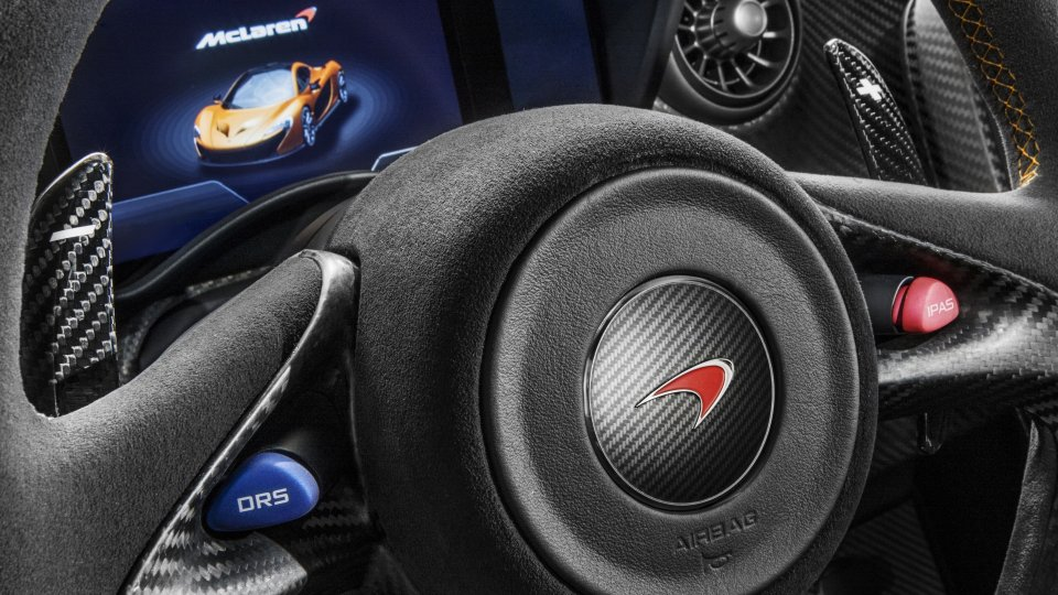 Mclaren P1 wheel buttons IPAS